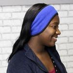 Fleece Headband - Blue