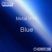 "12"" x 20"" Sheet Siser Metal HTV - Blue"