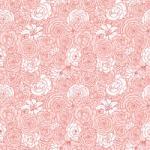 """Printed Pattern Vinyl - Blushing Blooms - 12"""" x 24"""""""
