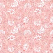 """Printed HTV - Blushing Blooms  - 12"""" x 15"""""""