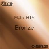 "12"" x 20"" Sheet Siser Metal HTV - Bronze"