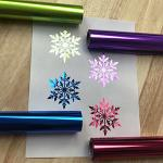 651Vinyl.com Adds Four New Neon Christmas StarCraft Foil Colors to Product Line