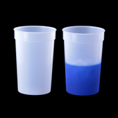 Color Changing Cup - Clear to Blue