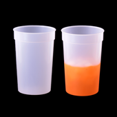 Color Changing Cup - Clear to Orange