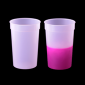 Color Changing Cup - Clear to Pink