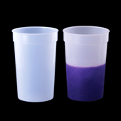 Color Changing Cup - Clear to Purple