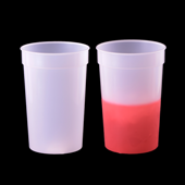 Color Changing Cup - Clear to Red