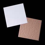 """Sublimation Ceramic Tile 4.25"""" x 4.25"""" - 2 Pack"""