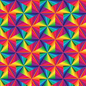 """Printed HTV Color Triangles Print 12"""" x 15"""" Sheet"""
