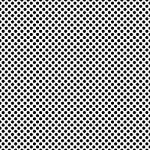 "Printed Pattern Vinyl - Connect the Dots - Black 12"" x 12"" Sheet"