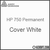 """Avery HP 750 - Cover White- 12"""" x 5 Foot"""