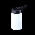 Sublimation Stainless Steel White Water Bottle 350ML