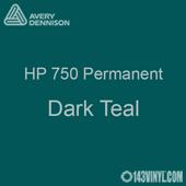 """Avery HP 750 - Dark Teal- 12"""" x 12"""" Sheet"""