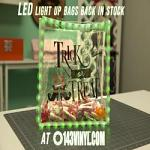 LED Light Up Bags are back in stock at 143VINYL