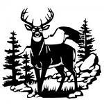 Free Download - Deer Scene