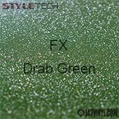 "StyleTech FX - Drab Green - 12"" x 12"""