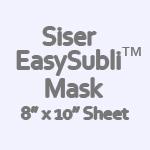 """Siser EasySubli Mask- 8"""" x 10"""" Sheet"""