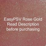 "Siser EasyPSV Glitter - Rose Gold (44) - 12"" x 24"" Sheet"