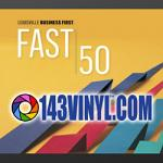 143VINYL™ Named One of the Fastest Growing Companies in Greater Louisville