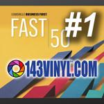 143VINYL™ Named THE Fastest Growing Company in Greater Louisville