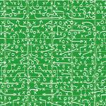 "Printed Pattern Vinyl - Football Playbook 12"" x 12"" Sheet"