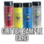 Glitter Printable Sample Card (PDF)
