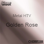 """12"""" x 20"""" Sheet Siser Metal HTV - Golden Rose"""