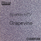 "Siser Sparkle HTV: 12"" x 24"" sheet - Grapevine"