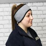 Fleece Headband - Gray