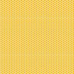 "Printed Pattern Vinyl - Honey, I'm Comb 12"" x 12"" Sheet"