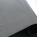 "Printed Pattern Vinyl - Black and White Houndstooth 12"" x 12"" Sheet"