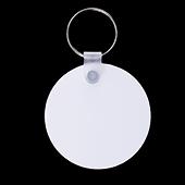"""Unisub Two Sided Round Aluminum Keychain - 2"""""""
