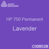 """Avery HP 750 - Lavender- 12"""" x 5 Foot"""