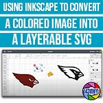 Inkscape | Episode 5 | Convert a colored image into a layerable svg