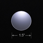Acrylic Blank - Badge Reel - Circle