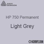"Avery HP 750 - Light Grey- 12"" x 5 Foot"