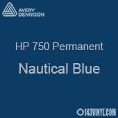 """Avery HP 750 - Nautical Blue- 12"""" x 12"""" Sheet"""