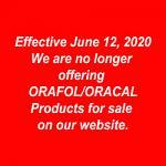 Product Changes Effective June 12, 2020