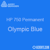 "Avery HP 750 - Olympic Blue- 12"" x 24"" Sheet"