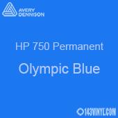 "Avery HP 750 - Olympic Blue- 12"" x 5 Foot"