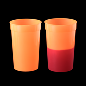 Color Changing Cup - Orange to Red