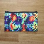 Small Zipper Pouch - Tie Dye