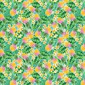 "Printed HTV - Pineapple Paradise  - 12"" x 15"""