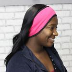 Fleece Headband - Pink