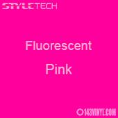 """StyleTech Fluorescent - Pink - 12"""" x 12"""" Sheet"""