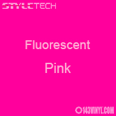 """StyleTech Fluorescent - Pink - 12"""" x 24"""" Sheet"""