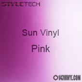 """StyleTech Sun Vinyl - Pink - 12"""" x 12"""" Sheet"""