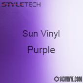 """StyleTech Sun Vinyl - Purple - 12"""" x 12"""" Sheet"""