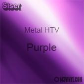 "12"" x 20"" Sheet Siser Metal HTV - Purple"
