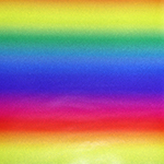 """Printed Pattern Vinyl - Pattern of the Month - Glitter Rainbow Ombre - 12"""" x 12"""""""